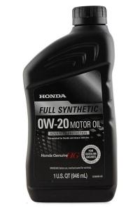 Моторное масло Honda Full Synthetic 0W-20, 0.946л