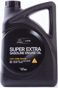 Моторное масло Hyundai Super Extra Gasoline 5W-30, 4л
