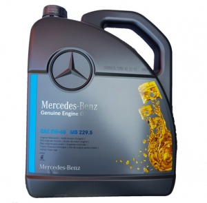 Моторное масло Mercedes-Benz 5W-40 229.5, 5л