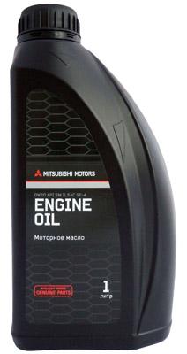 Моторное масло Mitsubishi 0W-20 SM, 1л