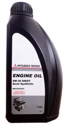 Моторное масло Mitsubishi SAE 5W-30 SN/CF полусинт, 1л