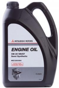 Моторное масло Mitsubishi SAE 5W-30 SN/CF полусинт, 4л