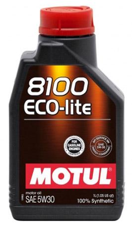 Моторное масло Motul Eco-Lite 8100 5W-30, 1л