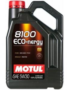 Моторное масло Motul Eco-nergy 8100 5W-30  A5/B5, 4л