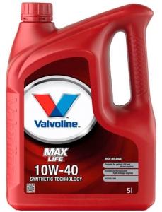 Моторное масло Valvoline MaxLife 10W-40, 5л