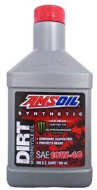 Масло мотоциклетное AMSOIL Synthetic Dirt Bike Oil SAE 10W-40 (0,946л)