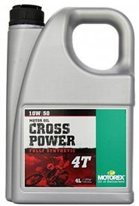 Масло моторное MOTOREX Cross Power 4Т SAE 10W-50, 4л