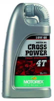 Масло моторное MOTOREX Cross Power 4Т SAE 10W-60 (1л)