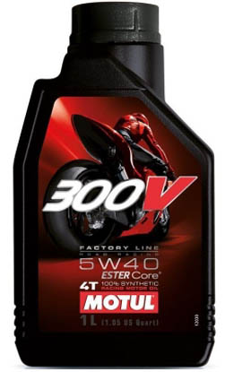 Масло моторное Motul 300V Factory Line ROAD RACING ESTER Core 5W-40 (1л)