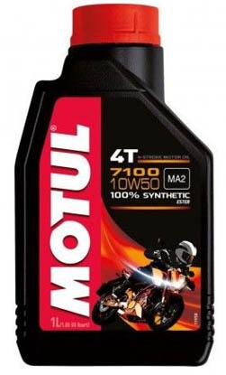 Масло моторное Motul 7100 4T 10W-50 (1л)