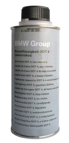 BMW Жидкость тормозная Bremsflssigkeit DOT 4 (0,5л)