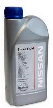 Nissan Жидкость тормозная DOT-4 (1л)