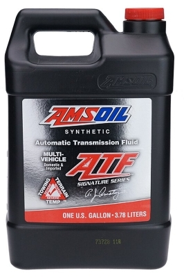 Масло трансмиссионное AMSOIL Signature Series Multi-Vehicle Synthetic Automatic Transmission Fluid (ATF) (3,78л)