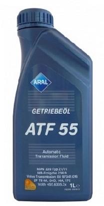 Масло трансмиссионное ARAL Getriebel ATF 55 (1л)
