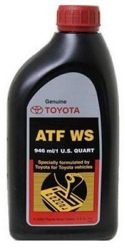 Масло трансмиссионное TOYOTA ATF WS (0.946л)
