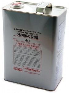 Масло трансмиссионное TOYOTA ATF Type T-IV бел, 4л