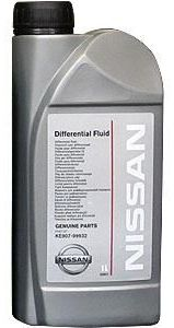 Масло трансмиссионное Nissan DIFFERENTIAL FLUID SAE 80W-90 (1л)