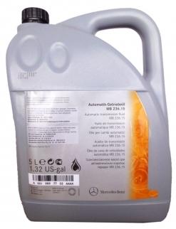 Масло трансмиссионное Mercedes-Benz ATF 7703 236.15 (5л)