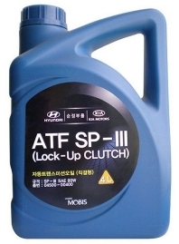 Масло трансмиссионное Hyundai ATF SP-III, 4л