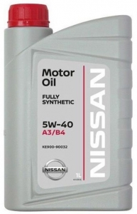 Моторное масло Nissan 5W-40 FS A3/B4, 1л
