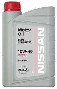 Моторное масло Nissan 10W-40 A3/B4, 1л