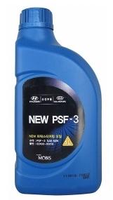 Жидкость ГУРА Hyundai полусинтетическая PSF-3 желтая, 1л