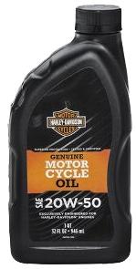 Масло моторное Harley Davidson 20W-50 (1л)