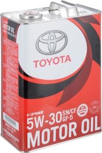 Моторное масло TOYOTA Motor Oil 5W-30 SN/CF, 4л