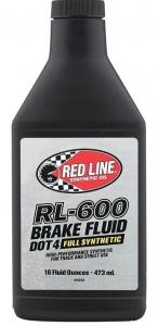 Тормозная жидкость REDLINE OIL RL600 (0,473л)