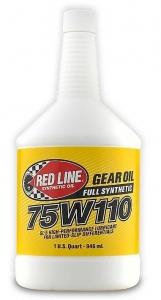 Трансмиссионное масло REDLINE OIL 75W-110 GL-5 (0,95л)