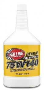 Трансмиссионное масло REDLINE OIL 75W-140 GL-5 (0,95л)