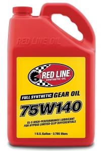 Трансмиссионное масло REDLINE OIL 75W-140 GL-5 (3,8л)