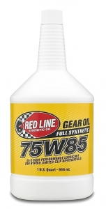 Трансмиссионное масло REDLINE OIL 75W-85 GL-5 (0,95л)