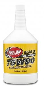 Трансмиссионное масло REDLINE OIL 75W-90 GL-5 (0,95л)