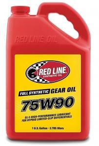 Трансмиссионное масло REDLINE OIL 75W-90 GL-5 (3,8л)