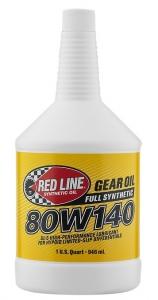 Трансмиссионное масло REDLINE OIL 80W-140 GL-5 (0,95л)