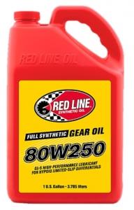 Трансмиссионное масло REDLINE OIL 80W-250 GL-5 (3,8л)
