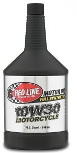 Моторное масло для 4-х тактных двигателей REDLINE OIL 10W-30 (0,95л)