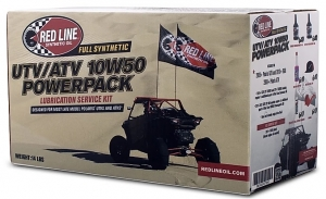 Комплект смазочных материалов REDLINE OIL UTV/ATV PowerPak 10W-50 kit (1шт)