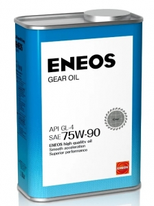 Масло трансмиссионное ENEOS GEAR GL-4 75W-90, 1л