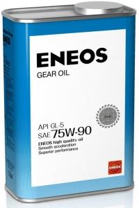 Масло трансмиссионное ENEOS GEAR GL-5 75W-90, 1л