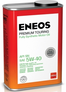 Моторное масло ENEOS Premium TOURING SN 5W-40, 1л