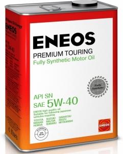 Моторное масло ENEOS Premium TOURING SN 5W-40, 4л