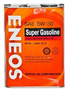 Моторное масло ENEOS Super Gasoline 5W-30 п/синт SL, 0.946л