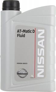Масло трансмиссионное Nissan АКПП AT-Matic D (1л)