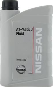 Масло трансмиссионное Nissan АКПП ATF Matic J (1л)