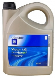 Моторное масло General Motors Dexos1 5W-30, 5л