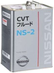 Масло трансмиссионное Nissan NS-2 CVT Fluid (4л)