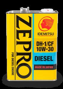 Моторное масло IDEMITSU ZEPRO DIESEL 10W-30 DH-1/CF, 4л