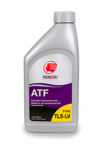 Масло трансмиссионное IDEMITSU ATF TYPE TLS-LV (полное соответствие TOYOTA ATF WS), 0.946л